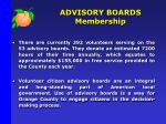 advisory boards membership1