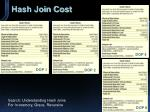 hash join cost