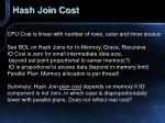 hash join cost23