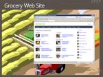 grocery web site