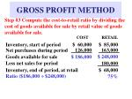 gross profit method7