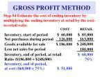 gross profit method8