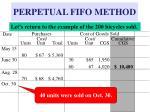 perpetual fifo method19