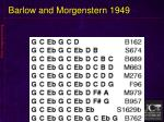 barlow and morgenstern 1949
