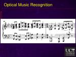 optical music recognition