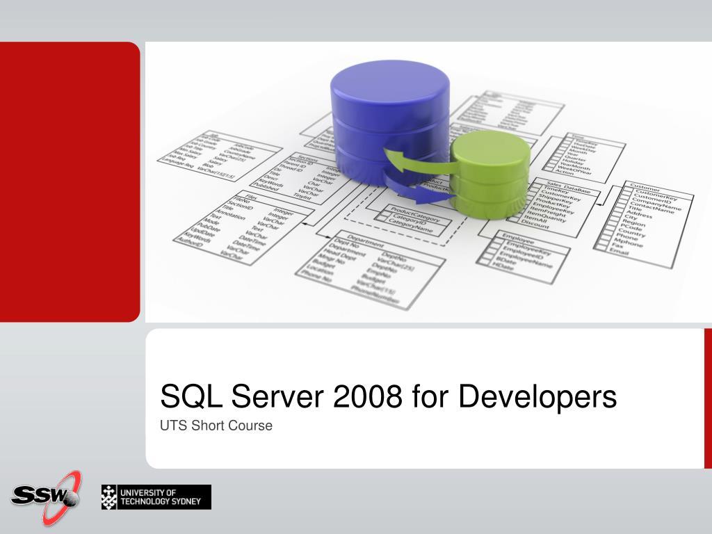 sql server 2008 for developers l.
