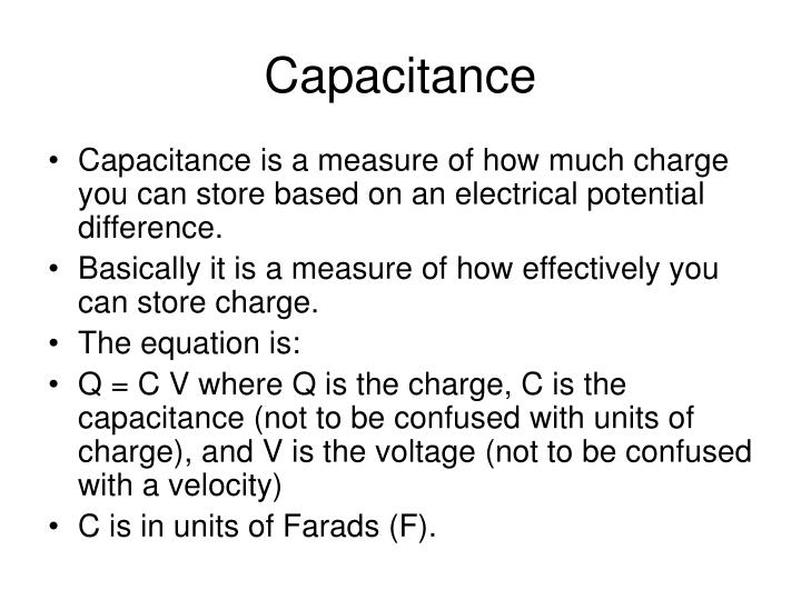 capacitors the bascics applications essay Capacitors in series/parallel much like resistors, multiple capacitors can be combined in series or parallel to create a combined equivalent capacitance capacitors, however, add together in a way that's completely the opposite of resistors.