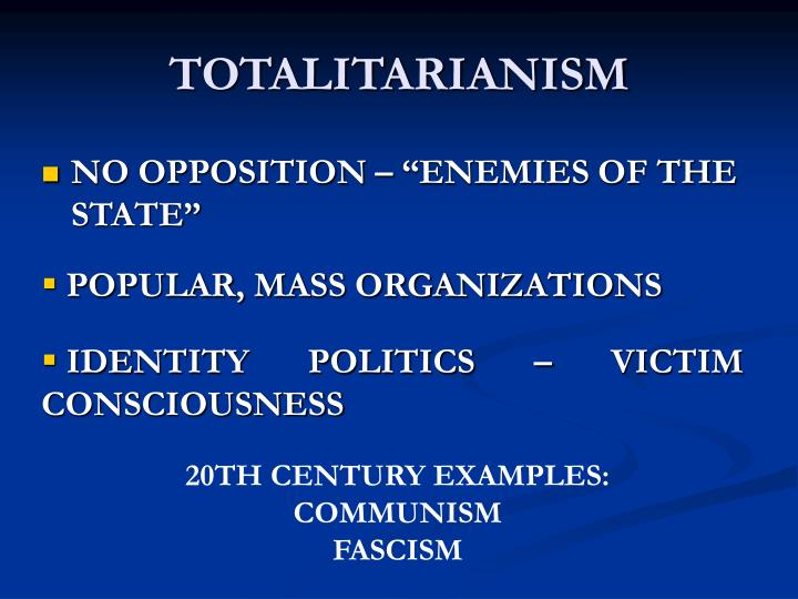 Ppt Totalitarianism Powerpoint Presentation Id995017