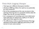 vista style logging changes5