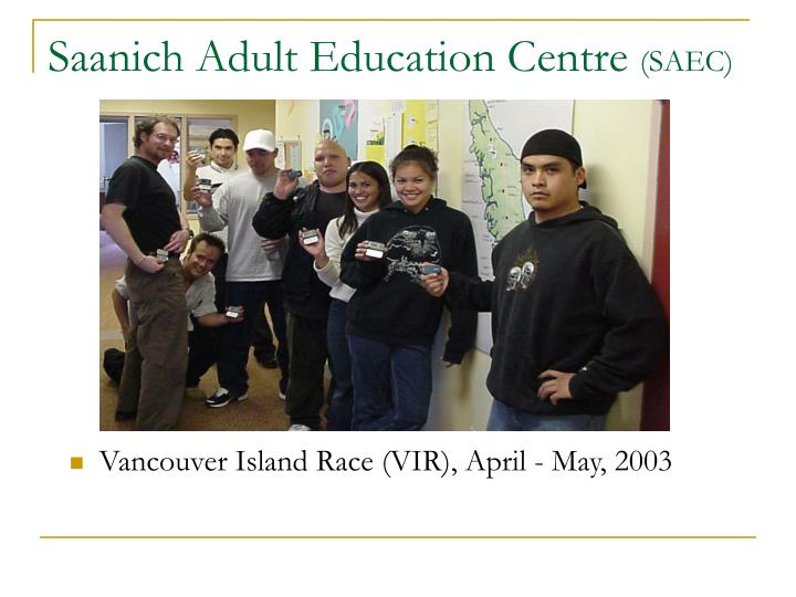 Saanich Adult Education Centre