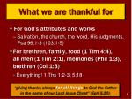what we are thankful for1