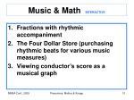music math interactive