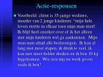 actie responsen3