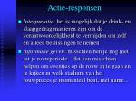 actie responsen5