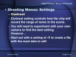 digital cameras menus and controls16