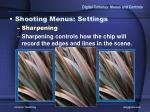 digital cameras menus and controls19