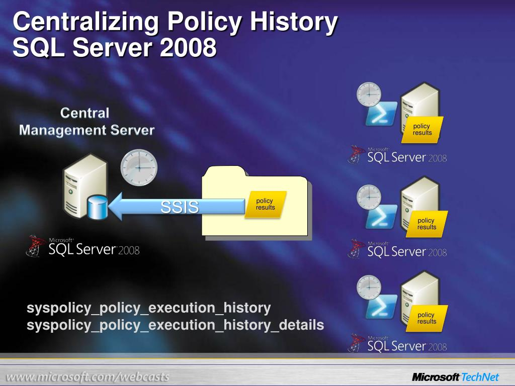 Centralizing Policy History