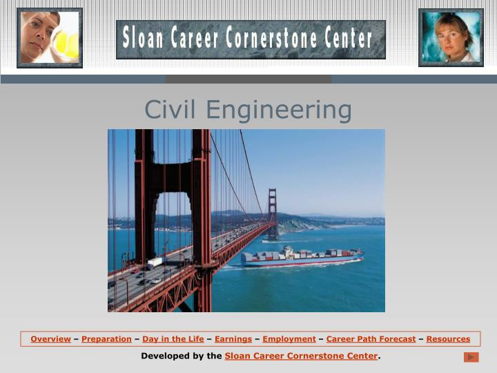 civil engineering n.
