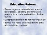 education reform