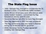 the state flag issue