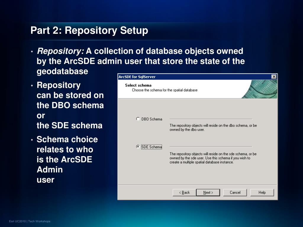 Part 2: Repository Setup