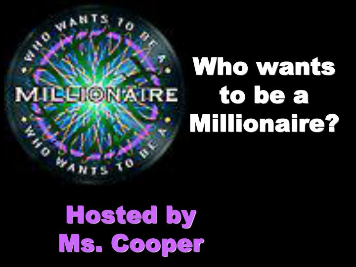who wants to be a millionaire n.