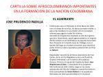 cartilla sobre afrocolombianos importantes en la formacion de la nacion colombiana