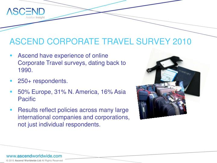 corporate travel survey jan 10 n.