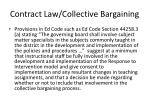 contract law collective bargaining1