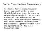 special education legal requirements1