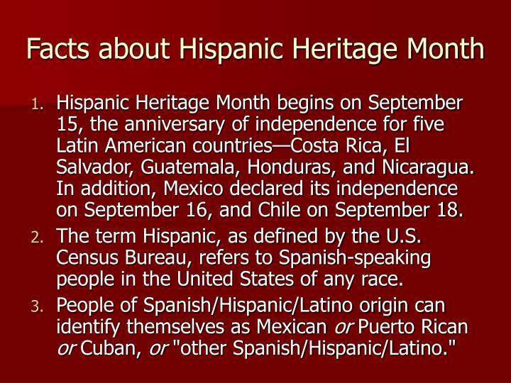 ppt hispanic heritage month powerpoint presentation id 99530