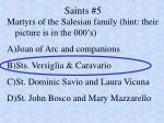 saints 5