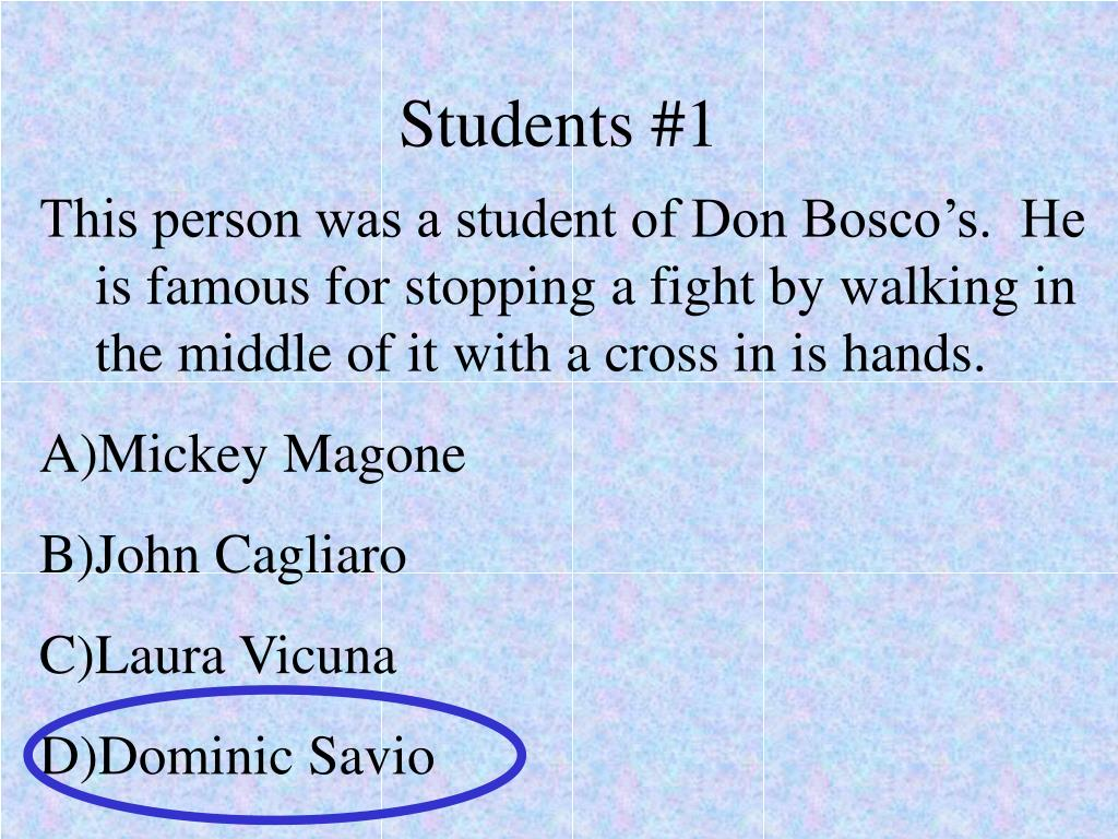 Students #1