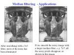 median filtering applications1