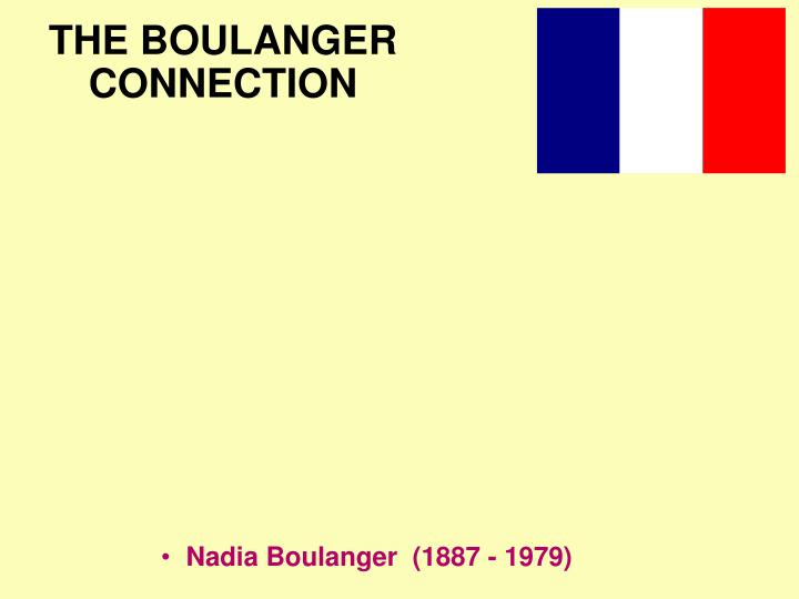 the boulanger connection n.