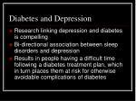 diabetes and depression