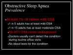 obstructive sleep apnea prevalence