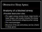 obstructive sleep apnea1