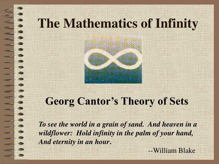the mathematics of infinity n.