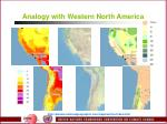 analogy with western north america15