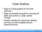 crear graficos
