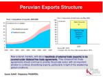 peruvian exports structure14