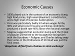economic causes