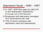 depression study som 19972