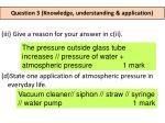 question 3 knowledge understanding application2