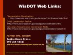 wisdot web links