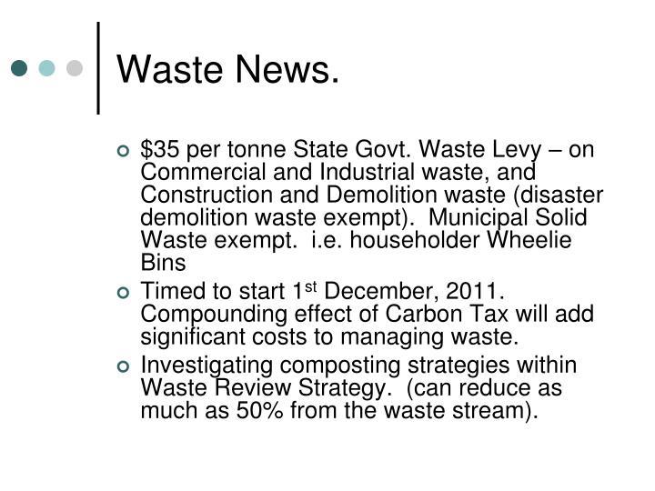 Waste News.