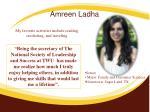 amreen ladha