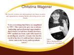 christina wagoner