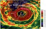 eye wall radar andrew